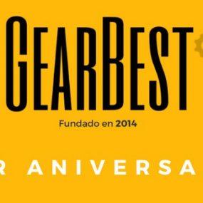 3er Aniversario de GearBest